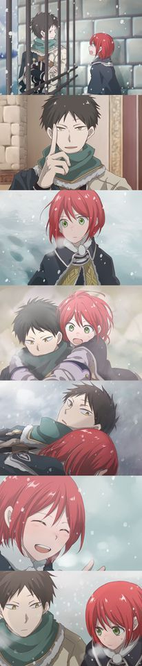 This show has me conflicted with who should be with ShiraYuki.