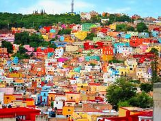 まるでレゴ!メキシコ・カラフルな世界遺産の街「グアナファト」 | メキシコ | トラベルjp<たびねす>