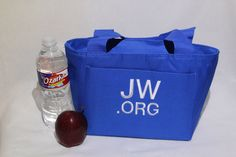 Lunch Tote; Embroidered at no additional cost; jw, jw.org by TheStitchandNeedle on Etsy https://www.etsy.com/listing/199612129/lunch-tote-embroidered-at-no-additional