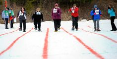 2013 Winter Games. Snowshoe races.
