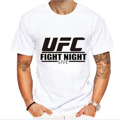 UFC 100% Cotton Designer Tee