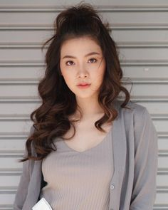 Visit the post for more. Beautiful Asian Women, Ulzzang Girl, Asian Woman, Girl Photos, Asian Beauty, My Idol, Celebs, Actresses, Hair Beauty
