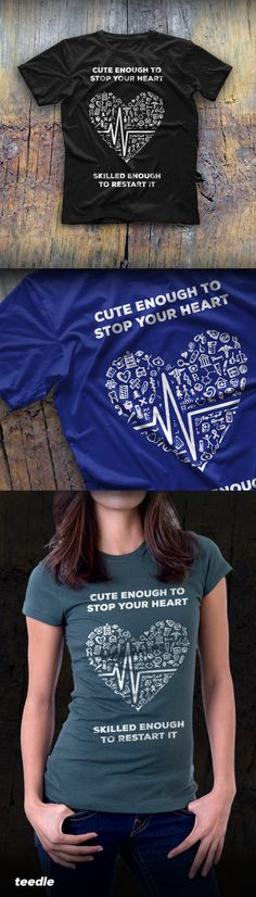 Check out this cool new tees and hoodies designed for scrubs wearing, patient caring, life saving, heart blessing nurses that we love so much. Wear proudly and spread our love!