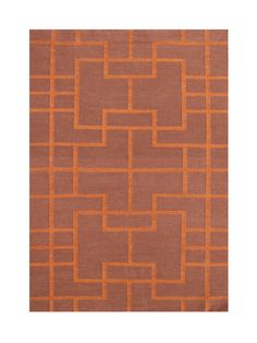 Andris Hand-Tufted Red Area Rug