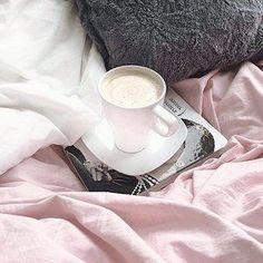 Pink, white and grey is an unstoppable combo. We love this killer combo!🍇🍥 ✉️🍚 📏📞#sleepwithettitude via @nastya_lvr