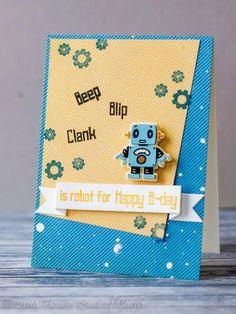 Robot Happy B-day