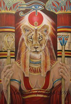 Sekhmet goddess