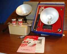 Pair of 1950's Complete Kalart Speed Flashes by ourPastourFuture on Etsy