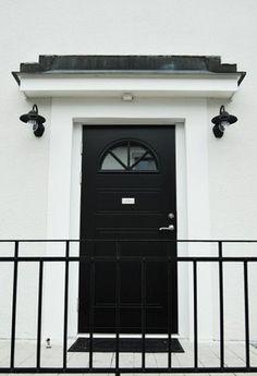 House of Philia House Of Philia, Decor, Entry Doors, Exterior Design, House, Interior, Black Doors, Interior And Exterior, Doors