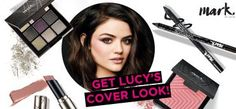 Get the .mark By Avon Brand Ambassador Lucy Hale brochure cover look! #AvonRep | Avon | Pinterest