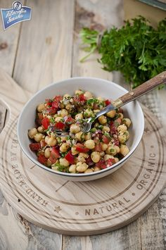 Shipping Wine To Maryland Key: 8743662161 Gluten Free Recipes, Healthy Recipes, South Beach Diet, Good Food, Yummy Food, Chickpea Salad, Superfood, Wine Recipes, Healthy Life