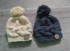 Baby knit hat Newborn baby Photo Prop Newborn by IfonBabyLand