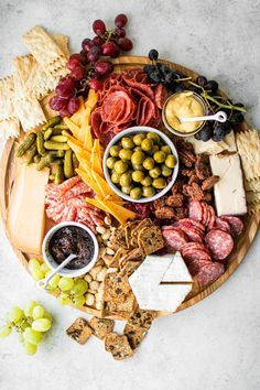 How to Build an Epic Cheese + Charcuterie Board Chicken Liver Mousse, Caper Berries, Garlic Kale, Charcuterie And Cheese Board, Easy Holiday Recipes, Cheese Shop, Fig Jam, Party Dishes, Chicken Livers