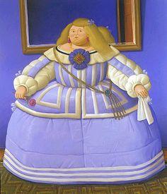 D' après Velazquez, 2005 Fernando Botero (Colômbia, 1932) óleo sobre tela,  198 x 168 cm Coleção Particular