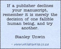 Quotable - Stanley Unwin - Writers Write Creative Blog