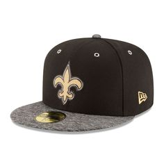 New Orleans Saints New Era Youth On-Stage 59FIFTY Fitted Hat - Black