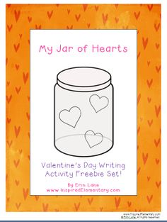 FREE Valentine's Day writing activity set! Adaptable for grades 1-6!