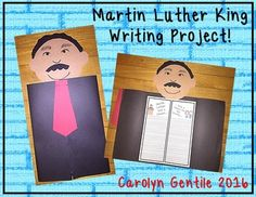 Lets Celebrate Martin Luther King! This is a fun writing activity that allows your students to reflect on the dream Martin Luther King had for our country.  The students are then asked to write about their dream for our country.  How can we improve our country today?