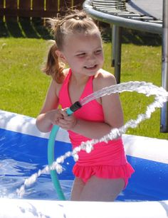 Isa Keele Great smile and I love how the camera caught the stream of water from the hose