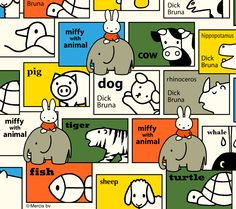 miffy with animal