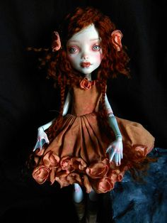 MH Monster High custom doll Lagoona blue Latti by MiriamMeri #monterhigh #doll #lagoona #custom #repaint #ooak #custom_mh