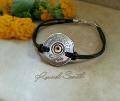 Hey, I found this really awesome Etsy listing at https://www.etsy.com/listing/204599030/bullet-jewelry-shotgun-shell-bracelet