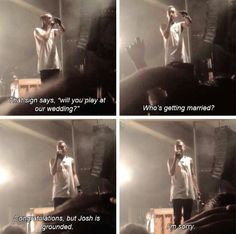 But Josh is an angel, how could he be grounded?