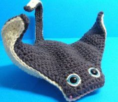 This pattern is the simplest I have ever designed. The second Manta took me about 2 hours. He is so simple to do and very friendly!!!