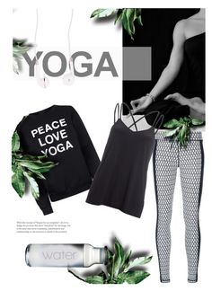 """""""peace - love - yoga♡"""" by gabrielleleroy ❤ liked on Polyvore featuring The Upside, Private Party, Beyond Yoga, Forever 21, yoga and polyvoreeditorial"""
