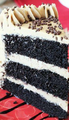 Caramel Mocha Chocolate Cake # Sweets # Desserts # PMS