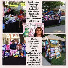 TheOleBagLady sells her items on Zibbet.com and t local craft shows in Missouri. #zibbet