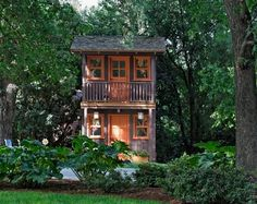 1000 images about playhouse shed combo on pinterest for Shed and playhouse combo plans
