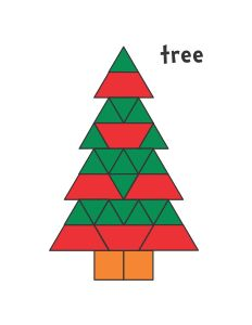 Pattern Block Mats (Printables) Receive a block for each answer- could play paired teams Christmas Math, Christmas Activities For Kids, Christmas Tree Pattern, Preschool Christmas, Christmas Themes, Christmas Pattern Block Mats, Math Patterns, Tree Patterns, Quilt Patterns