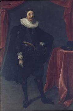1st Lord Baltimore, George Calvert (ca. 1580-1632) :: Portraits of the Six Lords Baltimore - Enoch Pratt Free Library