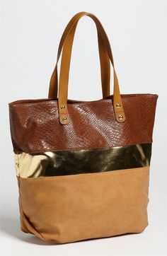 Steve Madden Shimmie Tote | Nordstrom $85.76 could this be a diaper bag?