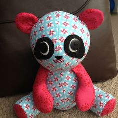 Pookie made from Melly & Me pattern