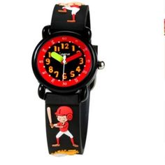 Watches 4d Anime Kids Watches Silicone Fashion Life Waterproof Children Quartz Watch Girls Boys Child Watch Baby Clock Relogio Feminino Fancy Colours