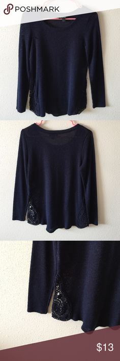 A.Byer sweater Blue sweater size small. No flaws Sweaters Crew & Scoop Necks