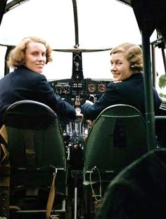 ATA (Air Transport Auxilary)) - During wartime women of the ATA provided an invaluable service to the RAF
