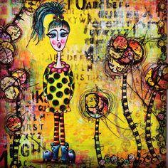#texture #Rangerink #dylusions #stamp #stencil #paints #acrylic in my #dylusionsjournal #dylusionsartjournal - #art #artjournal #backgrounds #carandache #colouring #luminance #doodling #details #kassa #fabercastell #polychromos #journal #journalart #journalpage #mixedmedia #pittpens #stamping @ranger_ink @fabercastellglobal @artfromtheheart_uk #dylusionspaint @ranger_ink @caran_dache #sheart #neon #creativegirl