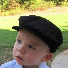 12 Totally Cool Baby Hats: Newsboy Hat for Baby Boys