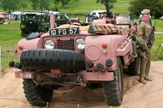 The pink panther, is my favorite army serie