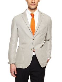 Cotton Knit Blazer by Luigi Bianchi Rough at Gilt