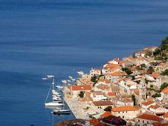 Summer days in Kut, Vis Island Croatia.