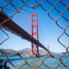 San Francisco - Golden Gate by Mamen Saura