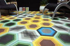 Kismet Tile http://design-milk.com/creative-tile-floors/