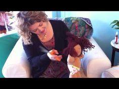 How to do a Bob - Good views of Bamboletta doll hair and body construction