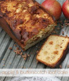apple n butterscotch cake