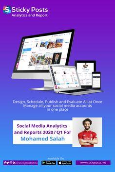 Sticky Posts provides Social Media Analytics and Reports for Paul Pogba Social Media Analytics, Artificial Intelligence Technology, Mohamed Salah, Paul Pogba, Football, Posts, App, Soccer, Futbol