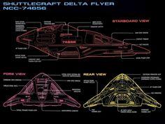 Star Trek Delta Flyer Blueprints - Bing Images